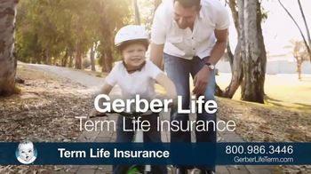Gerber Term Life Insurance TV Spot, 'Protection When You Need It Most'