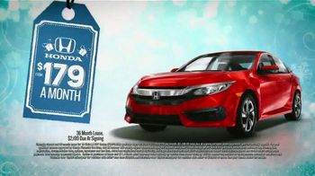 Honda Year End Clearance Sale TV Spot, 'Less Than the Competition' [T2] - Thumbnail 8