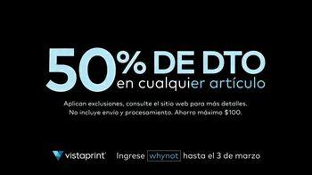 Vistaprint Venta Right Now TV Spot, 'Una imagen refrescante' [Spanish]