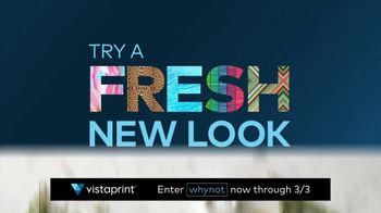 Vistaprint The Right Now Sale TV Spot, 'A Fresh New Look' - Thumbnail 4