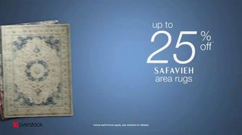 Overstock.com Presidents Day Blowout TV Spot, 'Safavieh Area Rugs' - Thumbnail 7
