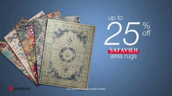 Overstock.com Presidents Day Blowout TV Spot, 'Safavieh Area Rugs' - Thumbnail 8