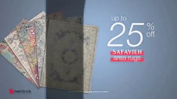 Overstock.com Presidents Day Blowout TV Spot, 'Safavieh Area Rugs' - Thumbnail 9
