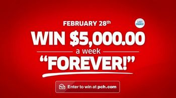 Publishers Clearing House TV Spot, 'Win $5,000 a Week' - Thumbnail 10