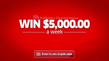 Publishers Clearing House TV Spot, 'Win $5,000 a Week'