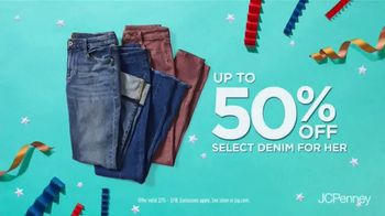 JCPenney Presidents' Day Sale TV Spot, 'Denim and Towels' - Thumbnail 4