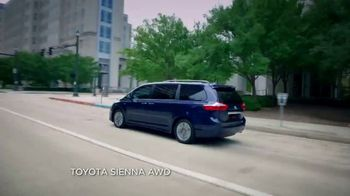 2019 Toyota Sienna TV Spot, 'Uphill in the Snow' [T2] - Thumbnail 1