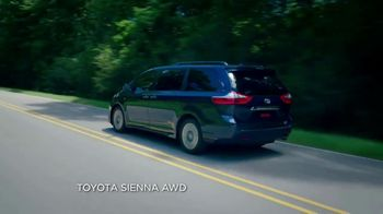 2019 Toyota Sienna TV Spot, 'Uphill in the Snow' [T2] - Thumbnail 2