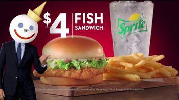 Jack in the Box $4 Fish Sandwich Combo TV Spot, 'Empanizado en panko' [Spanish] - Thumbnail 8