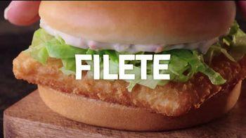 Jack in the Box $4 Fish Sandwich Combo TV Spot, 'Empanizado en panko' [Spanish] - Thumbnail 1