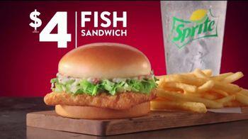 Jack in the Box $4 Fish Sandwich Combo TV Spot, 'Empanizado en panko' [Spanish] - Thumbnail 6