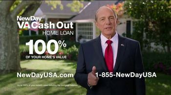 NewDay USA VA Cash Out Home Loan TV Spot, 'Honorable Service' - 507 commercial airings