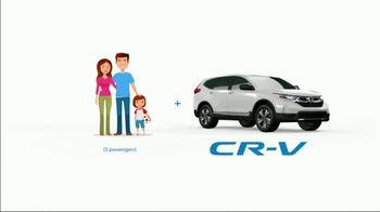 2019 Honda CR-V TV Spot, 'Five Passengers' [T2] - Thumbnail 6