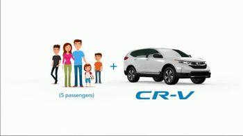 2019 Honda CR-V TV Spot, 'Five Passengers' [T2] - Thumbnail 7