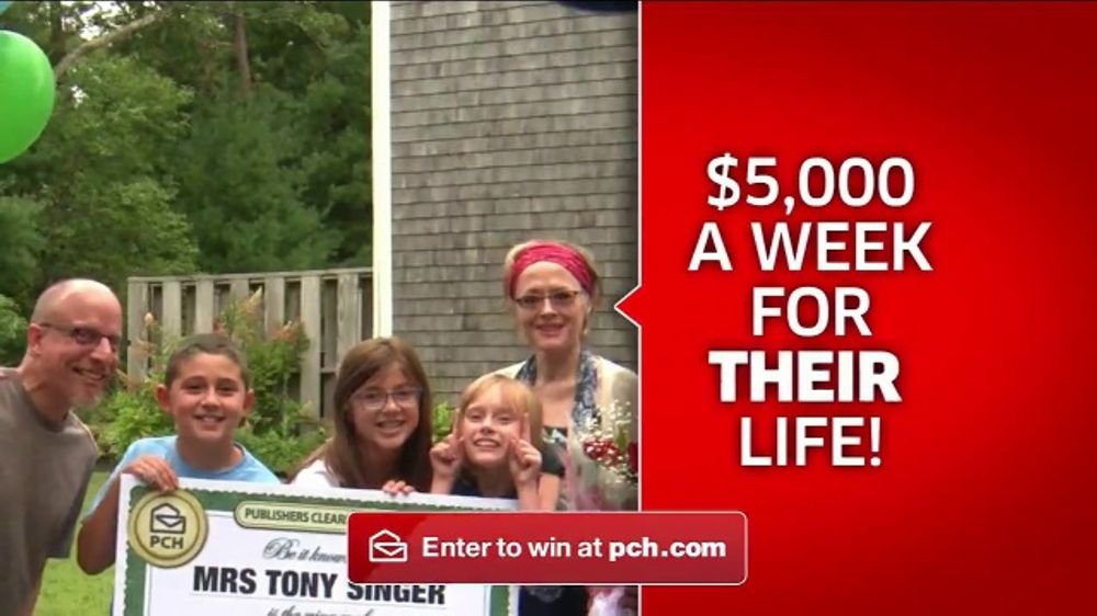 Publishers Clearing House TV Commercial, 'Win $5,000 a Week Forever' - Video