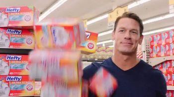 Hefty Tall Kitchen Ultra Strong TV Spot, 'Toddler' Featuring John Cena - Thumbnail 4