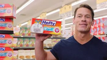 Hefty Tall Kitchen Ultra Strong TV Spot, 'Toddler' Featuring John Cena