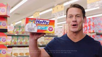 Hefty Tall Kitchen Ultra Strong TV Spot, 'Toddler' Featuring John Cena - Thumbnail 6