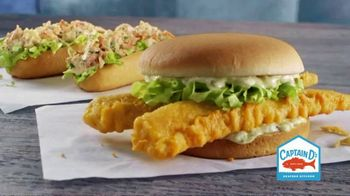 Captain D's Seafood Sandwiches TV Spot, 'Bad Boys on a Bun'