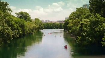 Texas Tourism TV Spot, 'Paddleboarding Through the City, No Boots Required' - Thumbnail 1