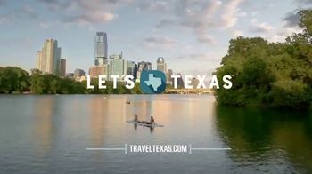 Texas Tourism TV Spot, 'Paddleboarding Through the City, No Boots Required' - Thumbnail 10