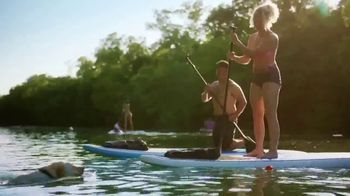 Texas Tourism TV Spot, 'Paddleboarding Through the City, No Boots Required'