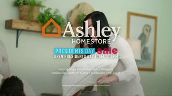 Ashley HomeStore Presidents Day Sale TV Spot, 'Four Days Only: Sofa' - Thumbnail 9