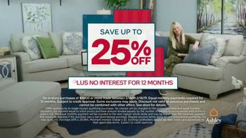 Ashley HomeStore Presidents Day Sale TV Spot, 'Four Days Only: Sofa' - Thumbnail 5