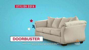 Ashley HomeStore Presidents Day Sale TV Spot, 'Four Days Only: Sofa' - Thumbnail 7