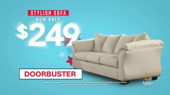 Ashley HomeStore Presidents Day Sale TV Spot, 'Four Days Only: Sofa' - Thumbnail 8