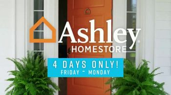 Ashley HomeStore Presidents Day Sale TV Spot, 'Four Days Only' - Thumbnail 2