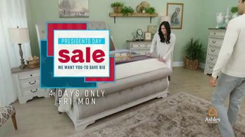 Ashley HomeStore Presidents Day Sale TV Spot, 'Four Days Only' - Thumbnail 3