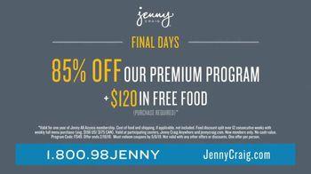 Jenny Craig Rapid Results TV Spot, 'Brittany: 85 Percent Off' - Thumbnail 10