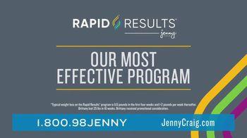 Jenny Craig Rapid Results TV Spot, 'Brittany: 85 Percent Off' - Thumbnail 5