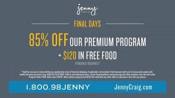 Jenny Craig Rapid Results TV Spot, 'Brittany: 85 Percent Off' - Thumbnail 8