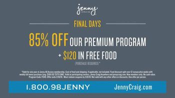 Jenny Craig Rapid Results TV Spot, 'Brittany: 85 Percent Off' - Thumbnail 9