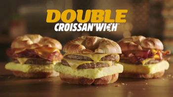 Burger King Double Croissan'wich TV Spot, 'Bigger and Better' - Thumbnail 8