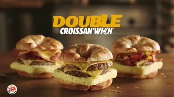 Burger King Double Croissan\'wich TV Spot, \'Bigger and Better\'