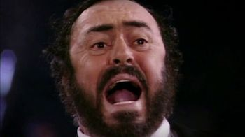 Pavarotti - 1 commercial airings