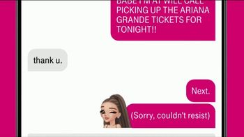 T-Mobile TV Spot, 'Ariana Grande Tour Tickets for Customers' Song by Ariana Grande - Thumbnail 8