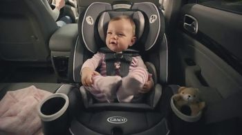 Graco 4Ever Extend2Fit Car Seat TV Spot, 'Growing Up' - 11562 commercial airings