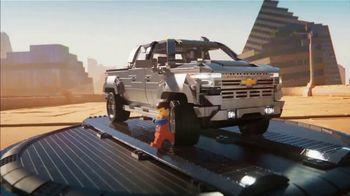 2019 Chevrolet Silverado TV Spot, 'The LEGO Movie 2: The Second Part: Getaway' [T1] - Thumbnail 4