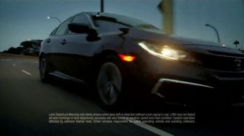 2019 Honda Civic LX Sedan TV Spot, 'Turtles' [T2] - Thumbnail 5