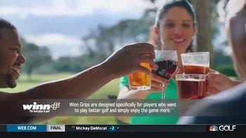 Winn Golf TV Spot, 'Slippery Grips' - Thumbnail 8