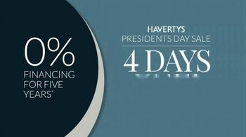 Havertys Presidents Day Sale TV Spot, 'President Mom: Sofas, Beds and Dining Sets' - Thumbnail 8