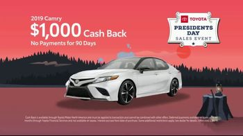 Toyota Presidents Day Sales Event TV Spot, 'For Your Eyes Only' [T2] - Thumbnail 8