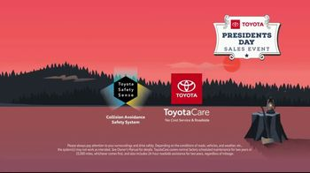 Toyota Presidents Day Sales Event TV Spot, 'For Your Eyes Only' [T2] - Thumbnail 9