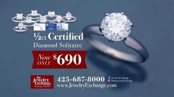 Jewelry Exchange TV Spot, 'Certified Diamond Jewelry On Sale Now' - Thumbnail 3