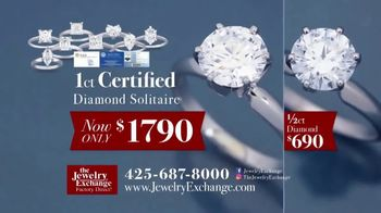 Jewelry Exchange TV Spot, 'Certified Diamond Jewelry On Sale Now' - Thumbnail 4