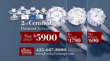 Jewelry Exchange TV Spot, 'Certified Diamond Jewelry On Sale Now' - Thumbnail 5